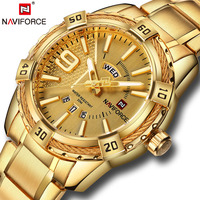 Luxury Brand NAVIFORCE Men S Watch Fashion Sport Waterproof Clock Men S Quartz Watch Men S