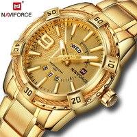 Luxury Brand NAVIFORCE Men S Watch Fashion Sport Waterproof Clock Men S Quartz Watch Men S