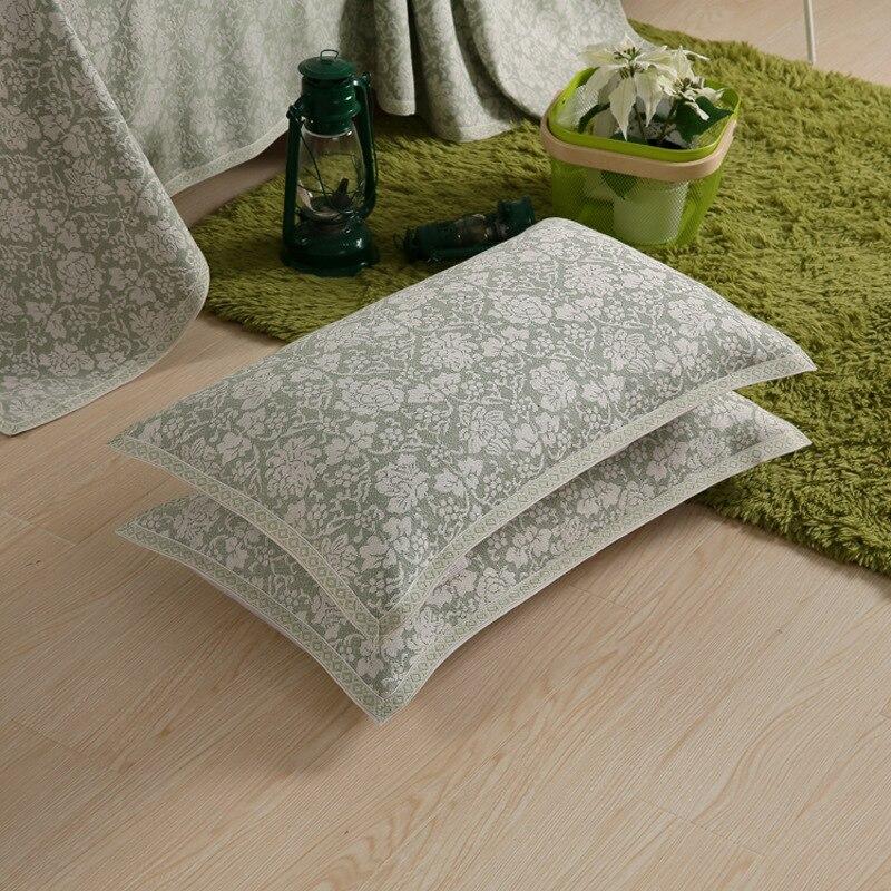 3 unid Cubrecama Cubre de Lujo Hilado Teñido Jacquard Lino Mezcla de - Textiles para el hogar - foto 5