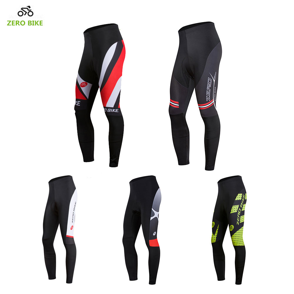 9ad322737 ZERO BIKE Cycling Pants Men 3D Gel Padded Bicycle Pants Tights Quick Dry  Breathable pantaloni mtb