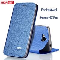 For Huawei Honor 4C Pro Case Cover Flip Case Luxury Matte Leather Case Mofi Fundas For