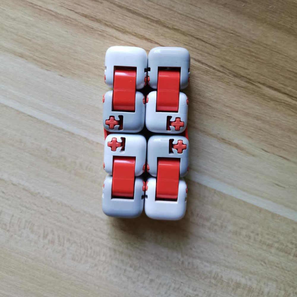 100% oryginalny xiaomi mitu Spinner Finger cegły inteligencji zabawki inteligentne zabawki na palec przenośny dla zabawy domu prezent dla Kid zagraj