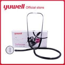 Профессиональный двойной медицинский стетоскоп устройства частота сердечных сокращений плода кардиологический монитор легких домашний детектор здоровья W2043SPB
