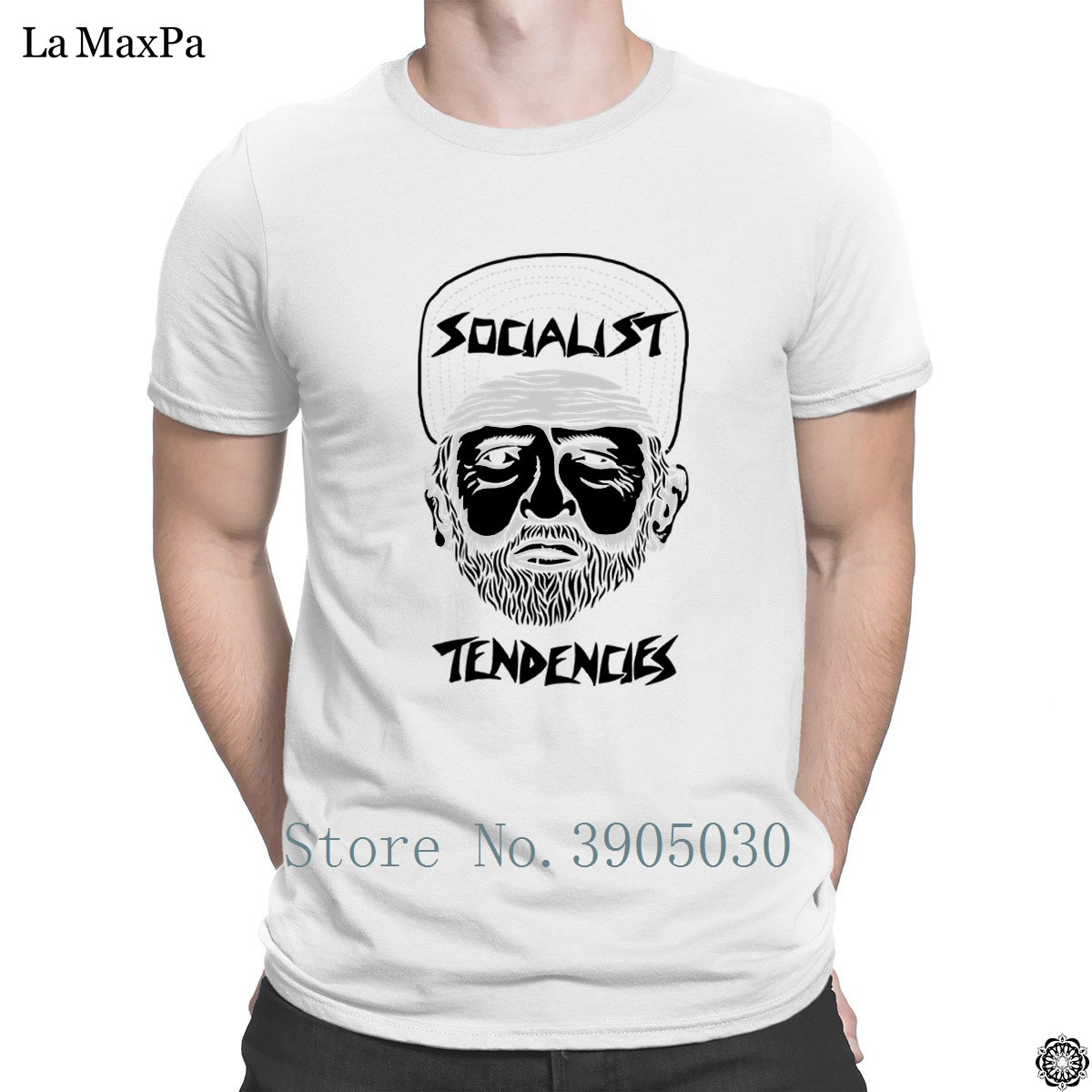 Humor Hilarious T Shirt Man Socialist Tendencies Mens Unisex Fashion Big Size Valerie Stripe Pants Navy 3xl Tshirt Pattern Plus Tee Hiphop Top In Shirts From Clothing