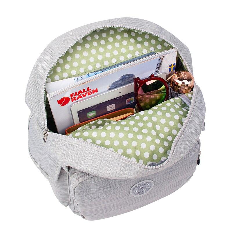 Décontracté Original femmes sacs pour femmes sacs à dos sacoche pour ordinateurs portable pour adolescentes mochila feminina avec singe porte-clés - 4