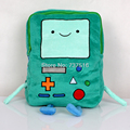 "New Adventure Time Plush BMO Beemo Game 15"" Plush Backpacks Shoulders Book Bag For Boys & Girls"