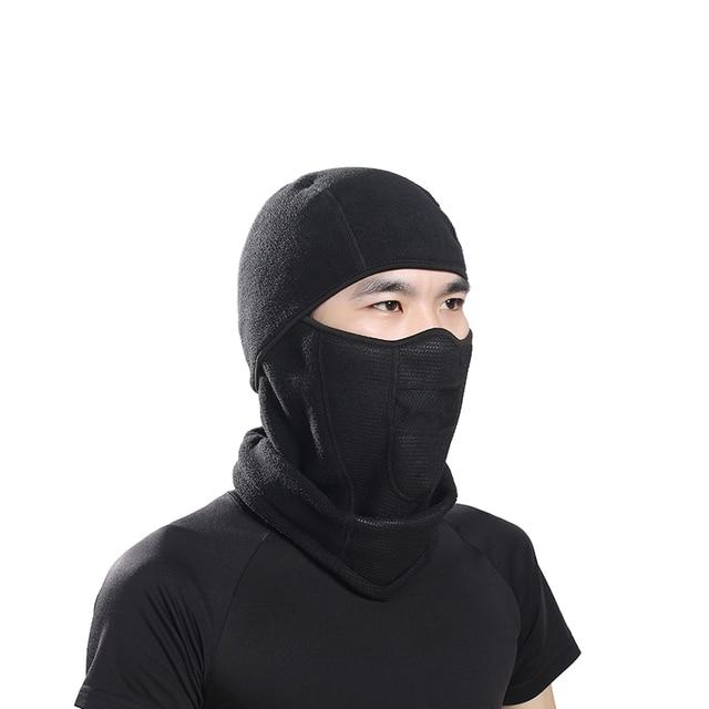VECTOR Winter Face Mask Cap Thermal Fleece Ski Bib Snowboard Shield Hat  Cold Headwear Cycling Face Mask Fiter Scarf de88c997345