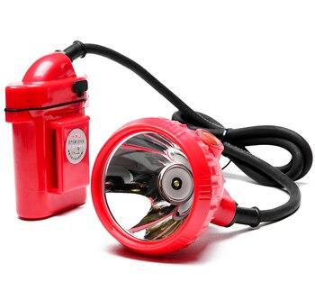 Hot Led Miner Head Lamp 6600MAH Li Battery For Mining Fishing Working Light Free Ship By DHL