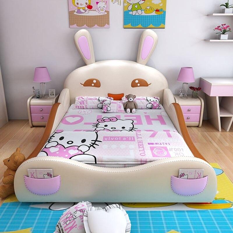 120 cm X 200 cm 4 größen kinder schlafzimmer möbel moderne doppelbettrahmen mit 3 farben optional