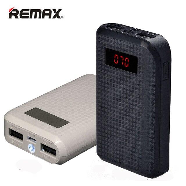 imágenes para Remax proda banco de la energía 10000 mah cargador portátil de batería externa powerbank batería externa móvil universal cargador portatil