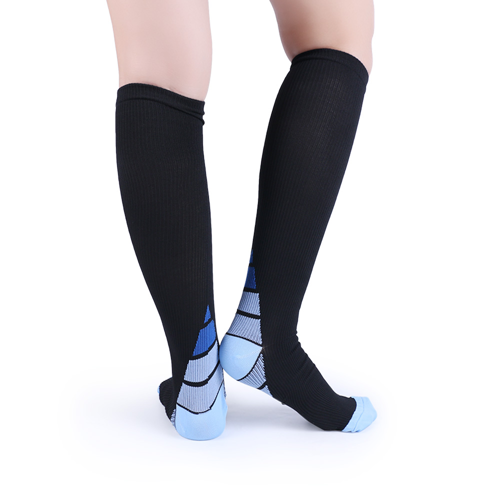 Underwear & Sleepwears Men Professional Compression Socks Breathable Leg Slimming Stockings Anti-fatigue Boost Blood Circulation Matching In Colour