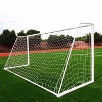 Standard Size PE Goal Net 11 Person Futbol Net Cotton Spandex Football Soccer Goal Net Post Nets Outdoor Sport Training Tool