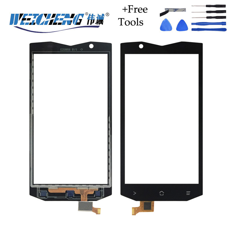 WEICHENG For Blackview BV8000 Touch Screen Perfect Repair Parts Touch Panel Blackview BV8000 Pro +free Tools Adhesive