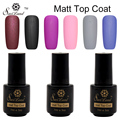 Saviland 1pcs  Matte Matt Top Coat Nail Polish Soak Off Cleaning UV Nail Gel Matte UV Gel Matte Nail Primer Varnish