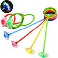 2016 nuevos niños de salto anillo de fitness para adultos flash QQ Dancer bouncing pelota lanzada foot ball Con anillos de esponja juguetes