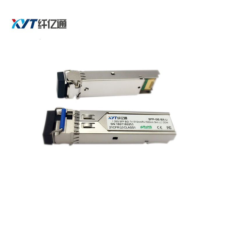 10 pair 1.25G 3km 1310T/1550R single fiber BIDI SFP SC connector with - Communication Equipment