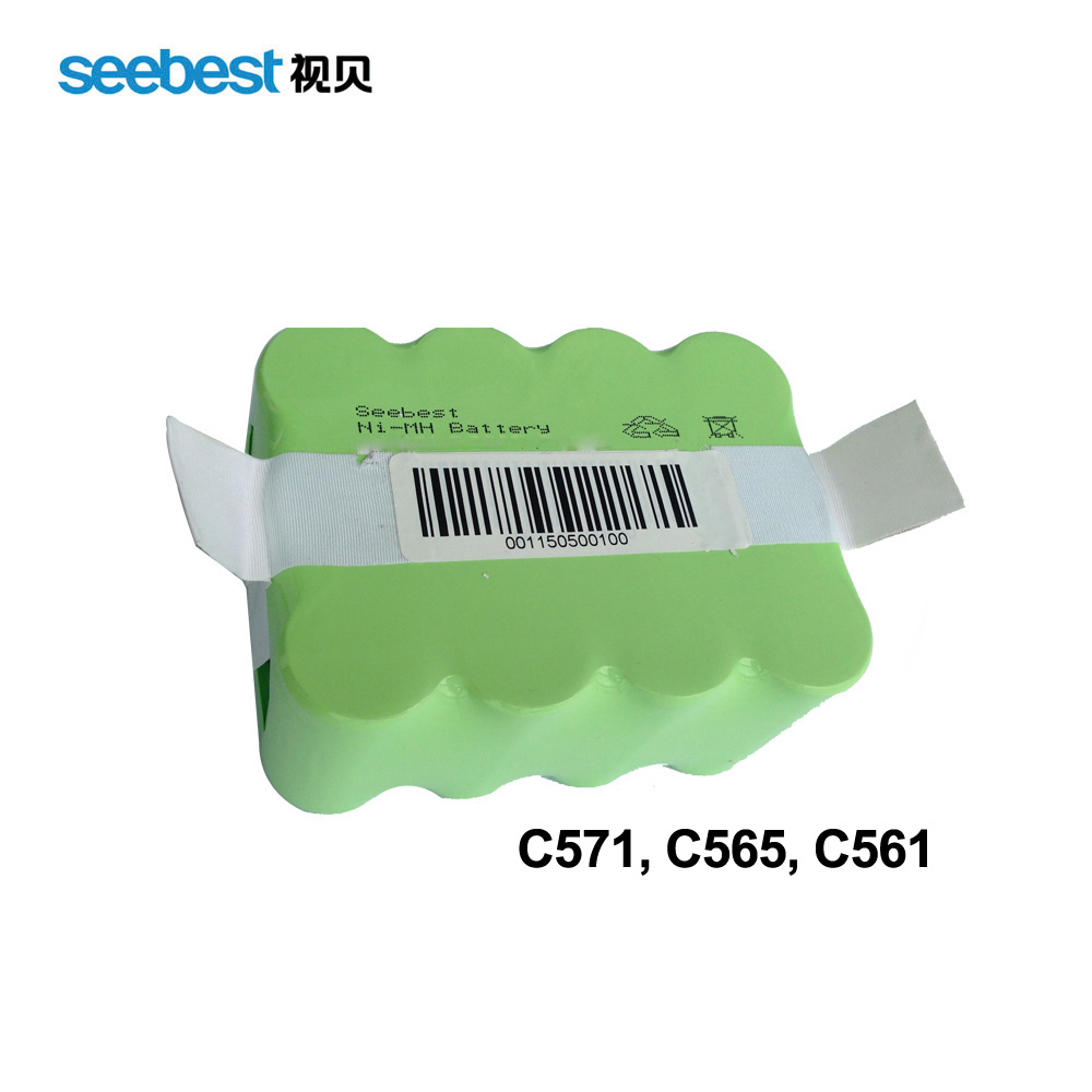 Seebest Robot Vacuum Cleaner Spare Parts Battery Ni MH 2200mah