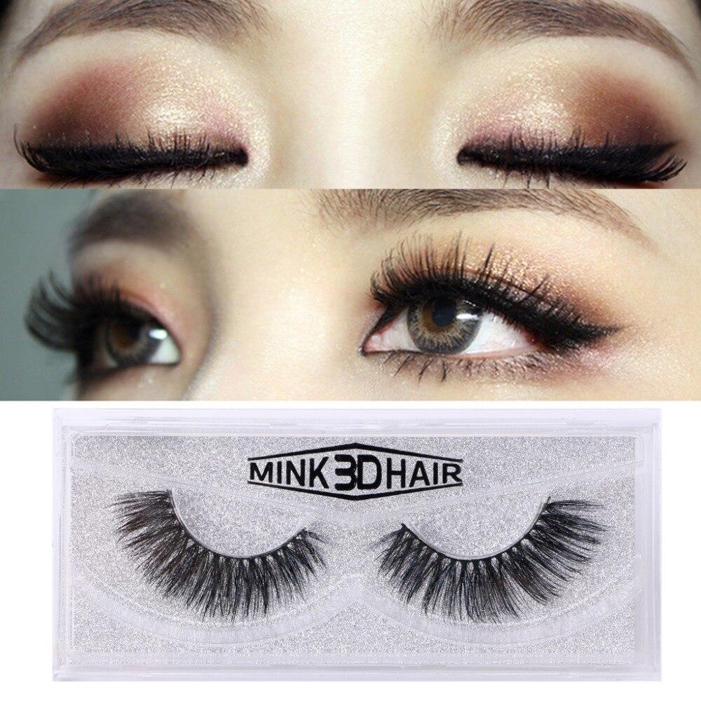 3D Mink Eyelashes Upper Lashes 100% Real Mink Strip ...