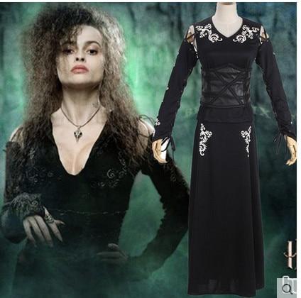 All harry potter bellatrix lestrange costume have