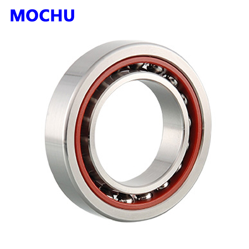 1pcs MOCHU 7007 7007C 7007C/P5 35x62x14 Angular Contact Bearings Spindle Bearings CNC ABEC-5 1pcs 71822 71822cd p4 7822 110x140x16 mochu thin walled miniature angular contact bearings speed spindle bearings cnc abec 7