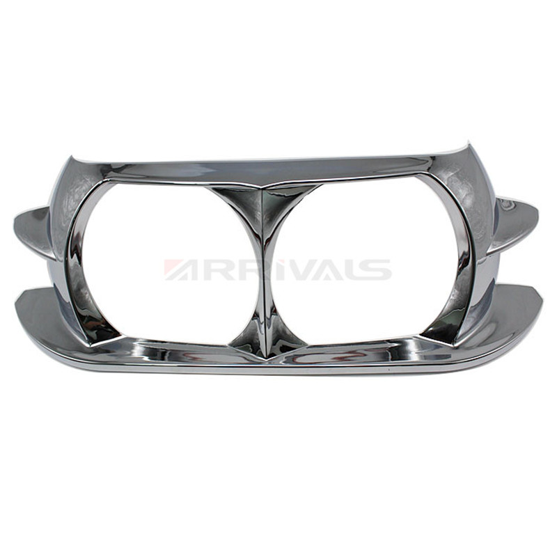 Motorcycle Dual Headlight ABS Fairing Trim Bezel Scowl Cover For Harley Touring Road Glide Customs 2015 2016 2017 2018 in Full Fairing Kits from Automobiles Motorcycles
