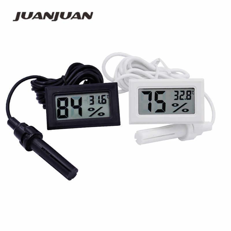 Digital LCD Fish Aquarium Marine Vivarium Hygrometer Thermometer