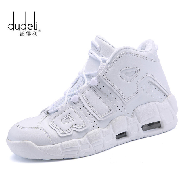 c22c6f4952a3 DUDELI Brand Basketball Shoes Men High-top Sports Air Cushion Jordan Hombre  Athletic Mens Shoes Comfortable Breathable Sneakers