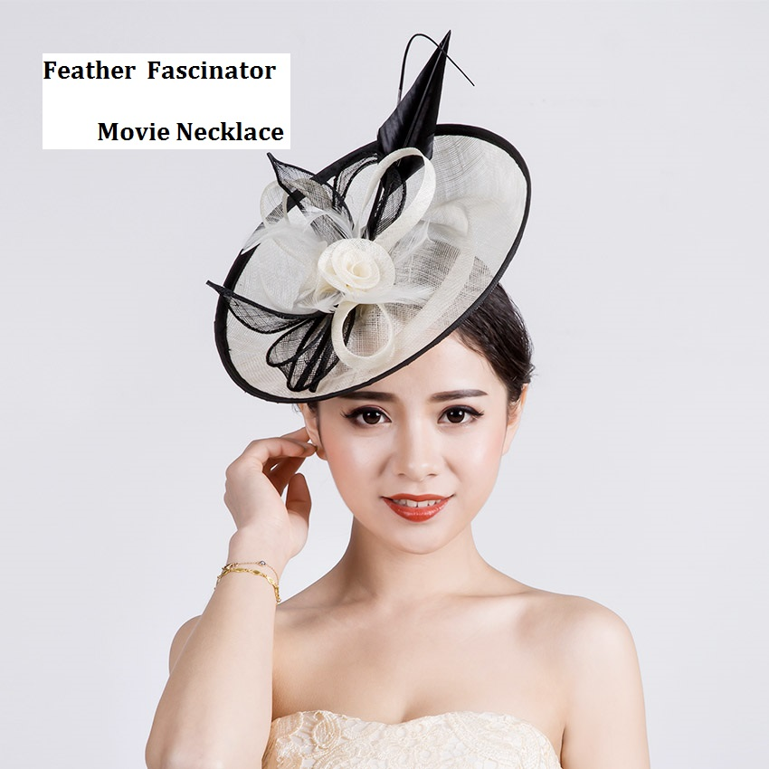 Fashion Trend Lady Dress Hair Headwear Women Sagittate Feather Fascinator Sinamay Hat Wedding Hairpin For Party Kentucky Derby free shipping high quality 2015 mini disc flower sinamay fascinator with feather for race