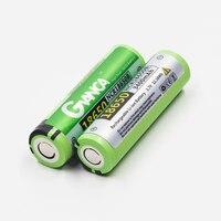 2 Pcs / Lot Original 18650 Battery 3400mAh 3.7V NCR18650B Rechargeable Li-ion Battery for Flashlight Power bank