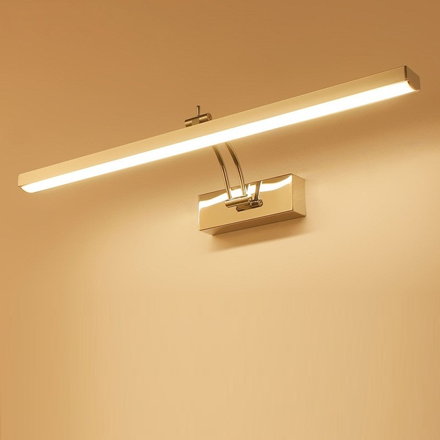 LED Mirror Light 40 50cm Waterproof Modern Cosmetic Wall Lamp Stainless Bathroom sconce lamps Cabinet lighting Decoration Lights