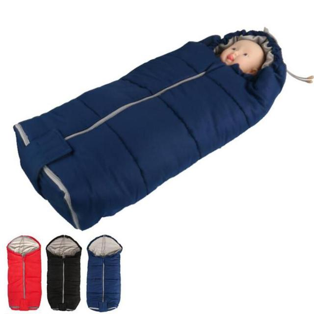 New Warm Envelope for Newborn Baby Stroller Fleece Sleeping Bag Footmuff Sack Infant Pushchair R2-18L