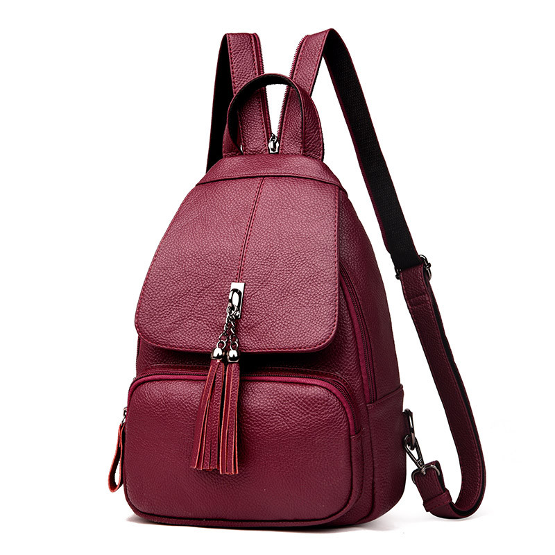 Fashion Leisure Women Backpacks Chest Women Leather Backpacks Female School Bag Shoulder Bags For Teenage Girls Travel Back Pack fashion leisure women backpacks women s genuine leather backpacks female school shoulder bags for teenage girls travel back pack