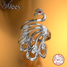 Peacock Rings Antique 925 Sterling Silver Jewelry, Rings of