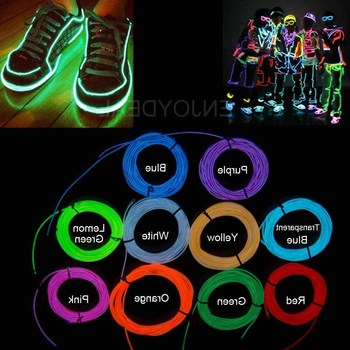 1M/2M/3M/5M/10M Neon Light Dance Party Decor Light Neon LED lamp Flexible EL Wire Rope Tube Waterproof LED Strip top selling el cable rope explorer design clothes led strip neon light stylish luminous costume for carnival new years day decor