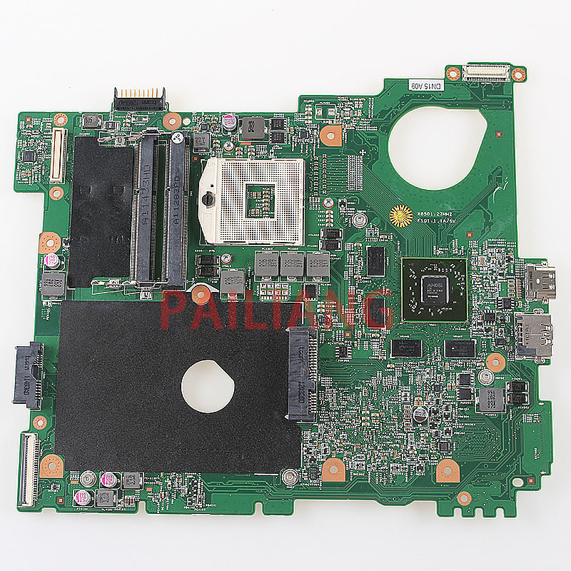 PAILIANG Laptop Motherboard For DELL Vostro 3550 V3550 15R N5110 PC Mainboard HM67 0XV36V Full Tesed DDR3