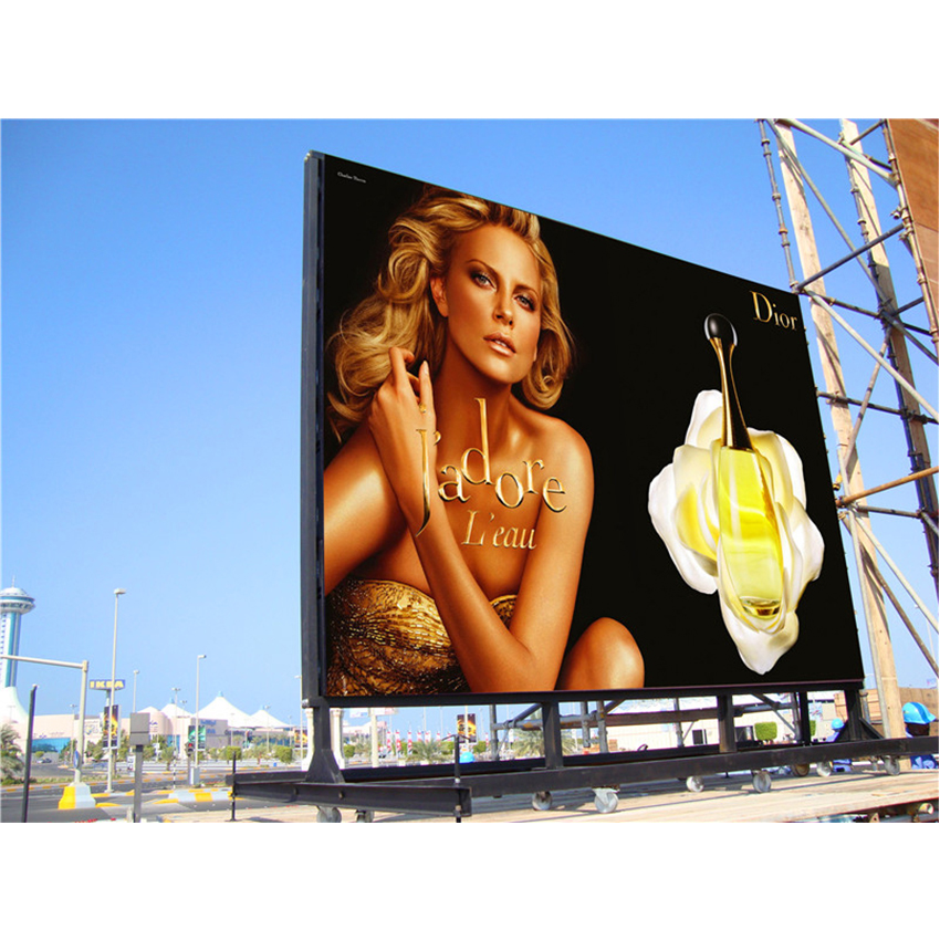 35pcs P6 576x576mm Cabinet Outdoor Full Color Smd Rgb Waterproof Big Led Display Screen Commercial Led Modules Display