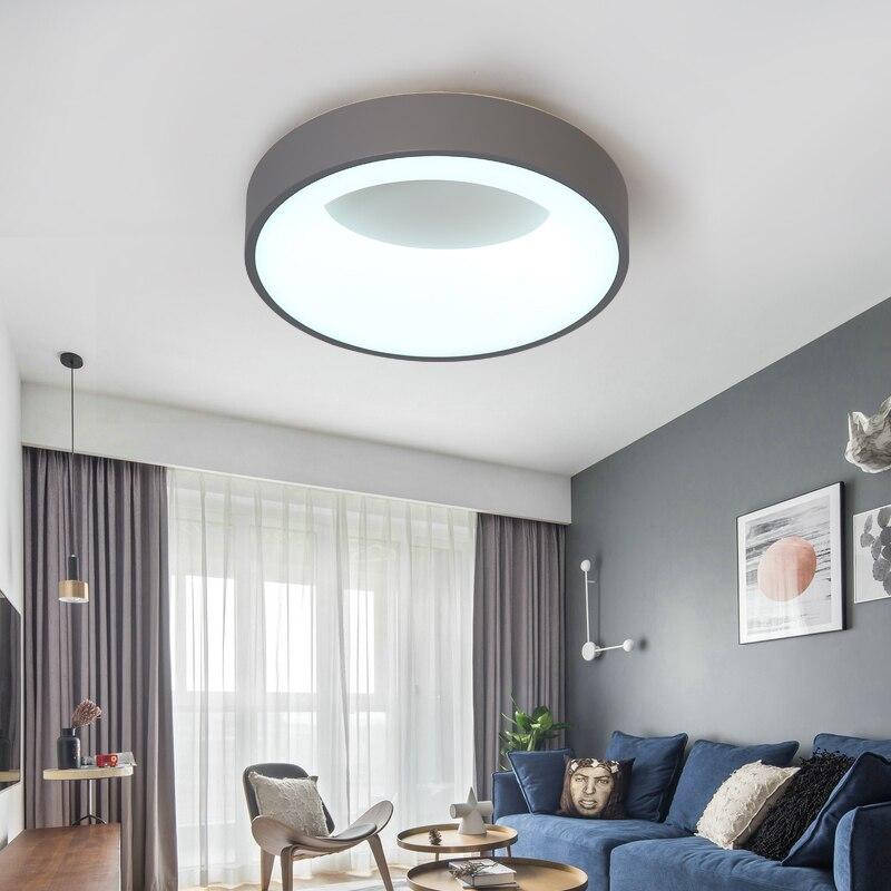 Usine sortie moderne LED lustre pour salon maison lit en aluminium plafond décoration éclairage lampe