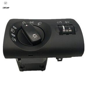 BTAP New Black Headlight Auto Control Head Light Switch For Audi A6 4B C5 4B1 941 531 F, 4B1941531F Original Equipment Quality