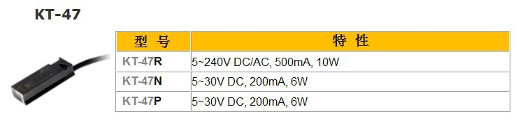 все цены на KITA KT-47R SENSOR REED SWITCH (LONG WIRE) AC DC 5-240V онлайн