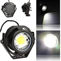 1 paar 1000LM 10 W Auto DRL Eagle Eye Light LED Mistlampen Dagrijverlichting Reverse Parking Light Lamp IP67 waterdichte