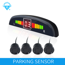 JINGZUAN Car Auto Parktronic LED Parking light With 4 Sensors Monitor System Led Display Assistance