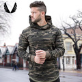 Aesthetic Revolution Men GYM Hoodies Cotton  Male Tracksuit Pullover Jacket Sports all season pullover hoodie - camo