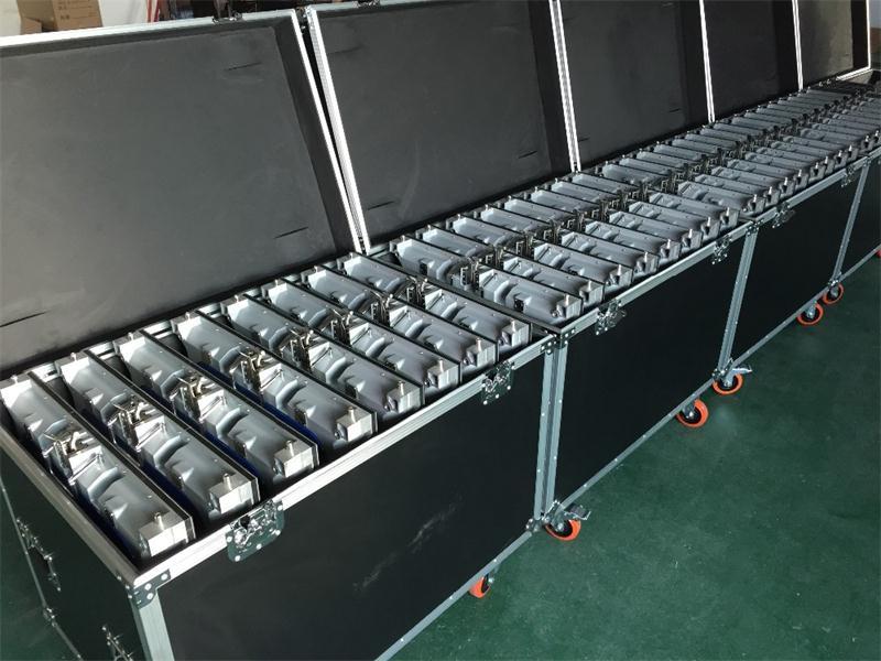 500 мм X 500 мм корпус полета P3.91, P4.81 корпус полета литья алюминия, 1 упаковка 6 или 1 упаковка 8 кейс полета или настроить