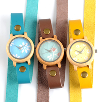 BOBO BIRD M22 24 Wooden Watches Women New Fashion New Created Reloje Mujer 2017 With Long