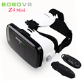 Bobovr z4 mini realidad virtual 3d video glasses vr auricular cuadro de cartón para 4.7-6 smart phone + controlador