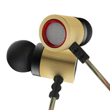 Universal Stereo Bamboo Earphones