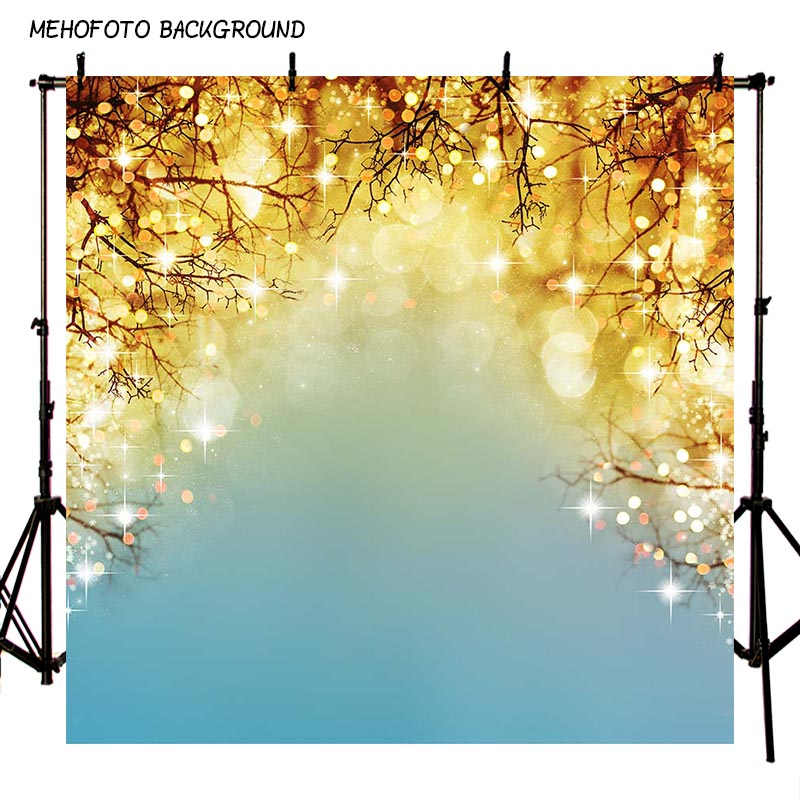 MEHOFOTO Seamless New Christmas Theme Brokeh Photography Backdrops 10X10ft Children Photo Background Props Photo Studio ST-765 mehofoto 8x12ft vinyl photography background christmas theme backdrops light for children snow for photo studio st 328