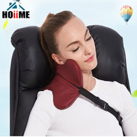 Hoiime Creative Travel Pillow For Airplane Multi function Car Pillow Neck Comfortable Memory Foam Sleeping U Shape Pillows Head