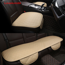 Car Seat Cover Cushion Front Rear Seat Cover Auto Chair Seat Protector Mat Pad For BMW F30 F10 F25 X5 F15 X6 F16 G30 F25 F45 G11 цена