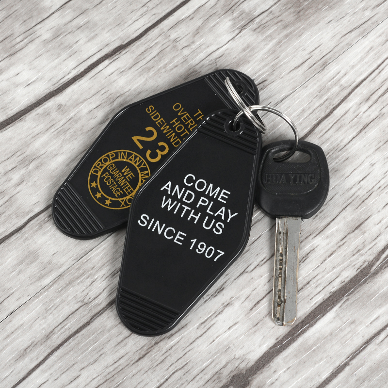 Come And Play With Us THE SHINING Keychain OVERLOOK HOTEL Room 237 Pendant Key Chain Keyrings Horror Film Jewelry For Fans